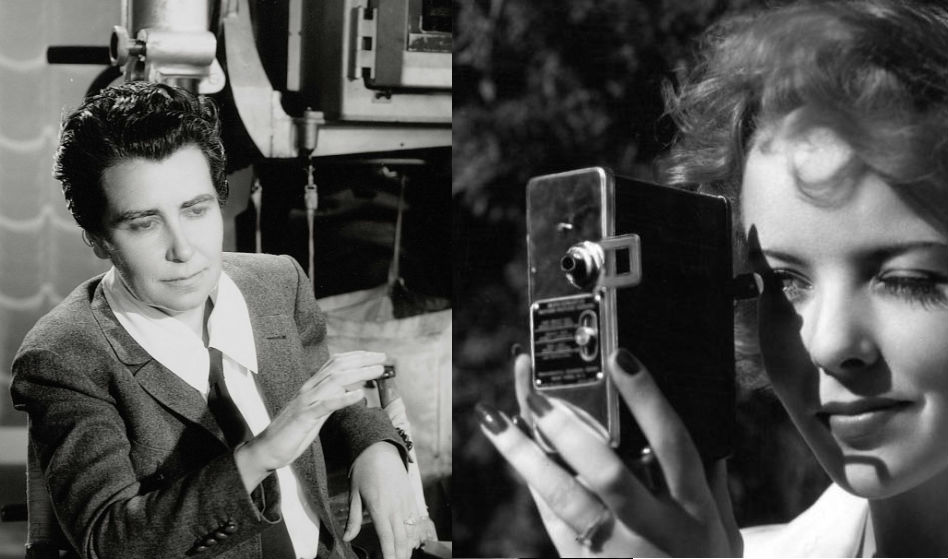 directoras pioneras del cine: Ida Lupino y Dorothy Arzner